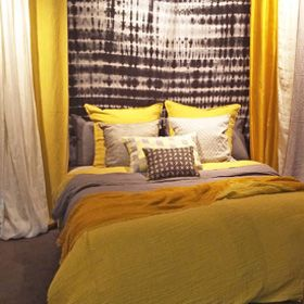 1000 id es sur le th me couvre lit jaune sur pinterest. Black Bedroom Furniture Sets. Home Design Ideas