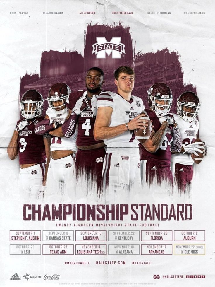 2018 fbs ncaa college football schedule posters in 2020
