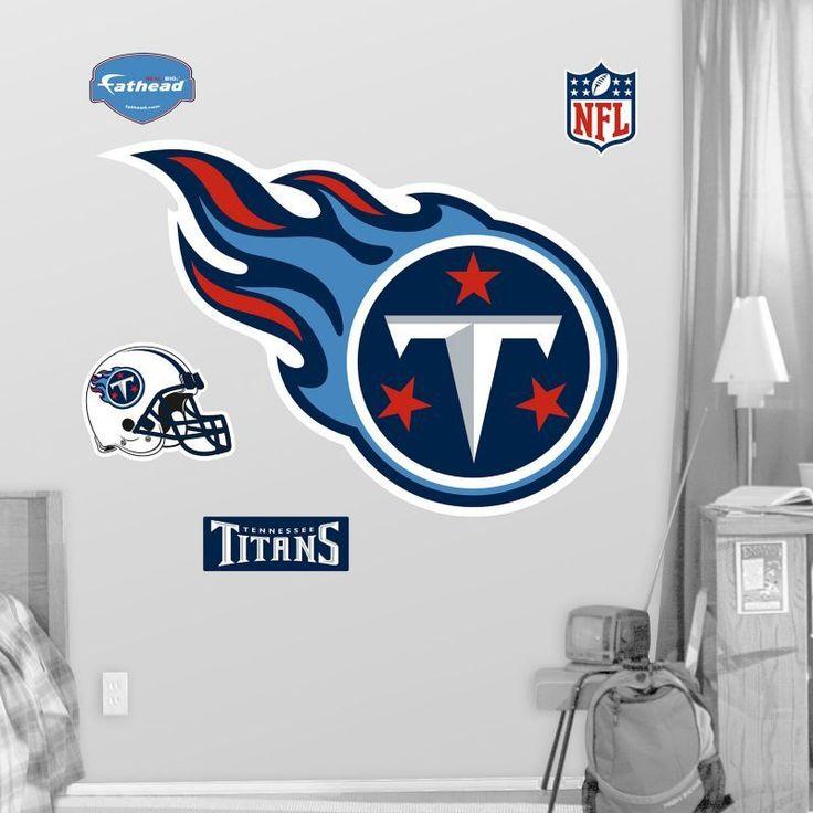 Fathead Tennessee Logo Wall Graphic, Team
