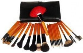 Make-up Kwasten en Penselen Set Black de Luxe