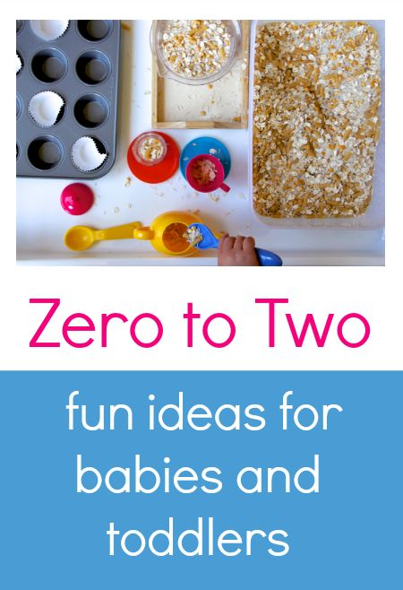 Fantastic activities for babies and toddlers