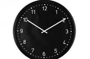 Use a vintage belt to hang the Bondis wall clock ($19.99).   37 Cheap And Easy Ways To Make Your Ikea Stuff Look Expensive
