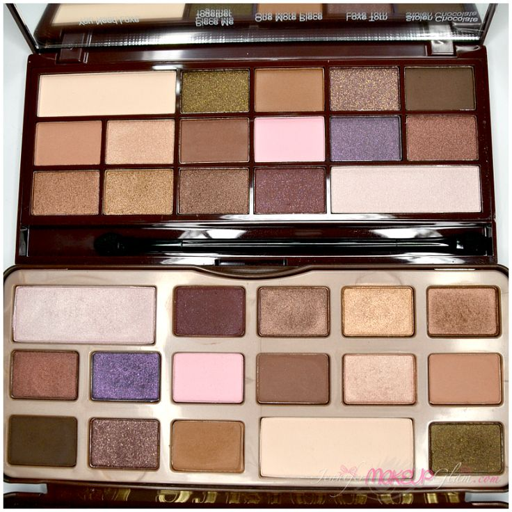 "* CARA A CARA (8) Paleta ""I HEART CHOCOLATE"" (MAKEUP"
