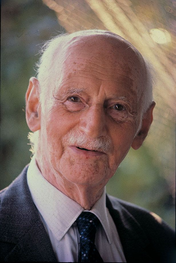 Otto Frank in the late 1970's.