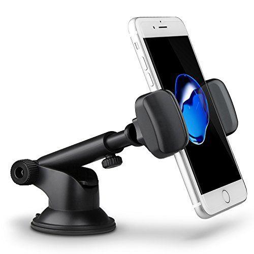 Support Téléphone Voiture Ventouse Auto, TechRise Support Voiture Réglable, Rotation à 360°, avec la longueur désirée et l'angle du bras télescopique ,fixé stablement sur le tableau de bord pour iPhone,Samsung,Nokia,Sony et d'autres Appareils #Support #Téléphone #Voiture #Ventouse #Auto, #TechRise #Réglable, #Rotation #avec #longueur #désirée #l'angle #bras #télescopique #,fixé #stablement #tableau #bord #pour #iPhone,Samsung,Nokia,Sony #d'autres #Appareils