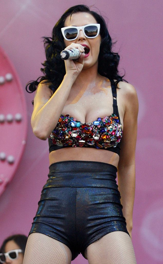 Time to Sparkle from Katy Perry's Concert Costumes  She still be-dazzles us.