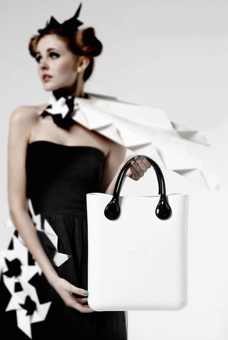 O chic handbag in white #obag #ochic #handbags #white
