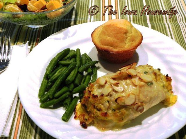 The Iowa Housewife: Family Favorites...Crab Stuffed Sole