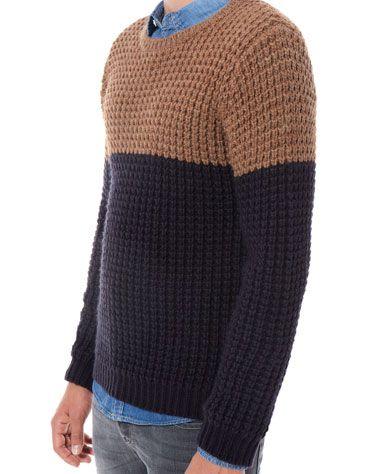Bershka Deutschland - Pullover zweifarbig