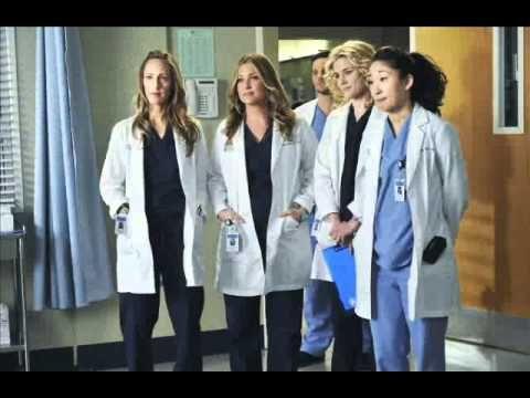 The women of Greys Anatomy