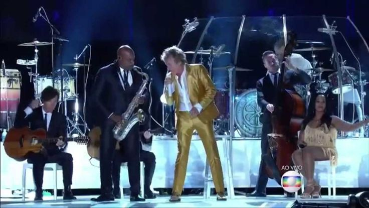 ROD STEWART I DONT WANT TO TALK ABOUT IT- NO ROCK IN RIO 2015