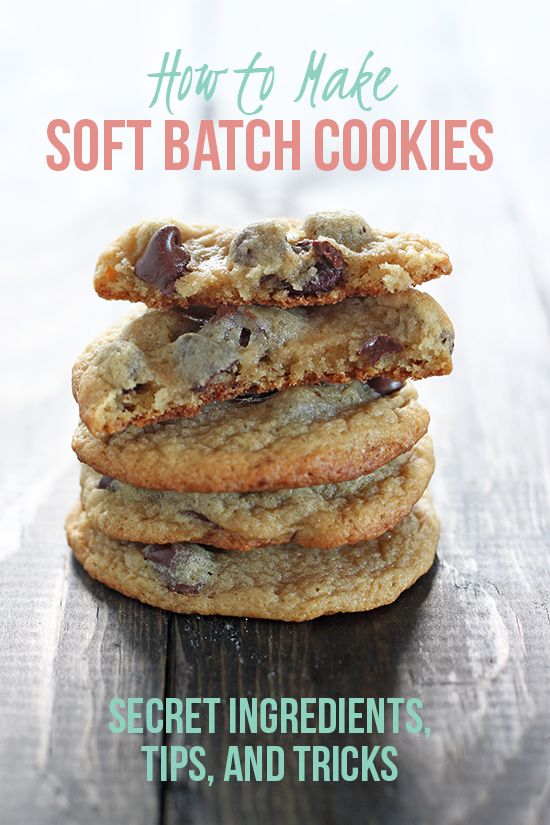 Now you can make any cookie recipe the SOFTEST ever!