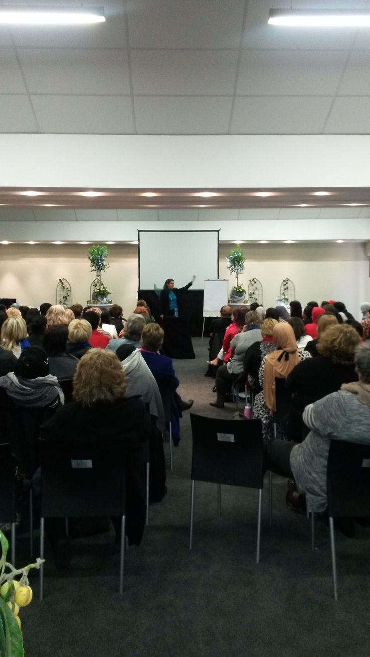 The Fairy God Mother, Donna McCallum did a talk for the ladies on 'Money Magic.'
