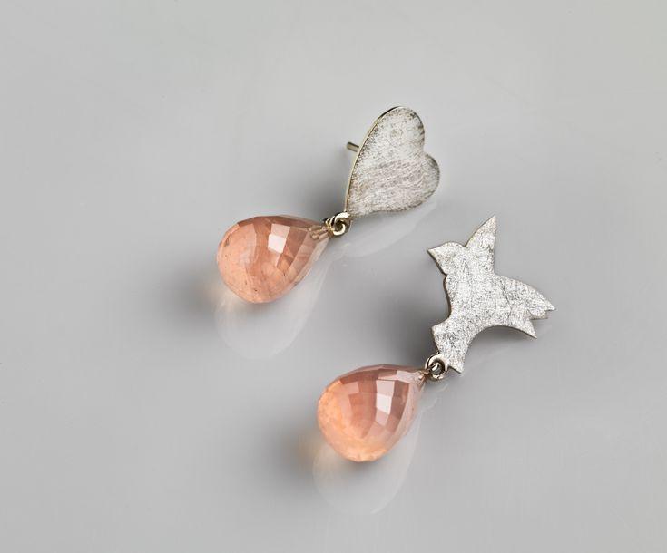 Marie-Bénédicte de Schryver - Juweelontwerpster - Goudsmid - Juweelontwerp - Collectie hedendaagse juwelen - Oorjuwelen