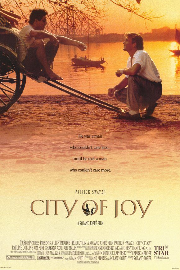 City of Joy , starring Patrick Swayze, Pauline Collins, Om Puri, Shabana Azmi. Hazari Pal lives in a small village in Bihar, India, with his dad, mom, wife, Kamla, daughter, Amrita... #Drama