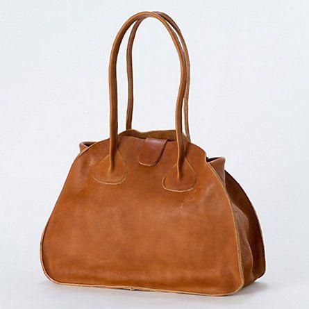 Oak Leather Carryall - $398