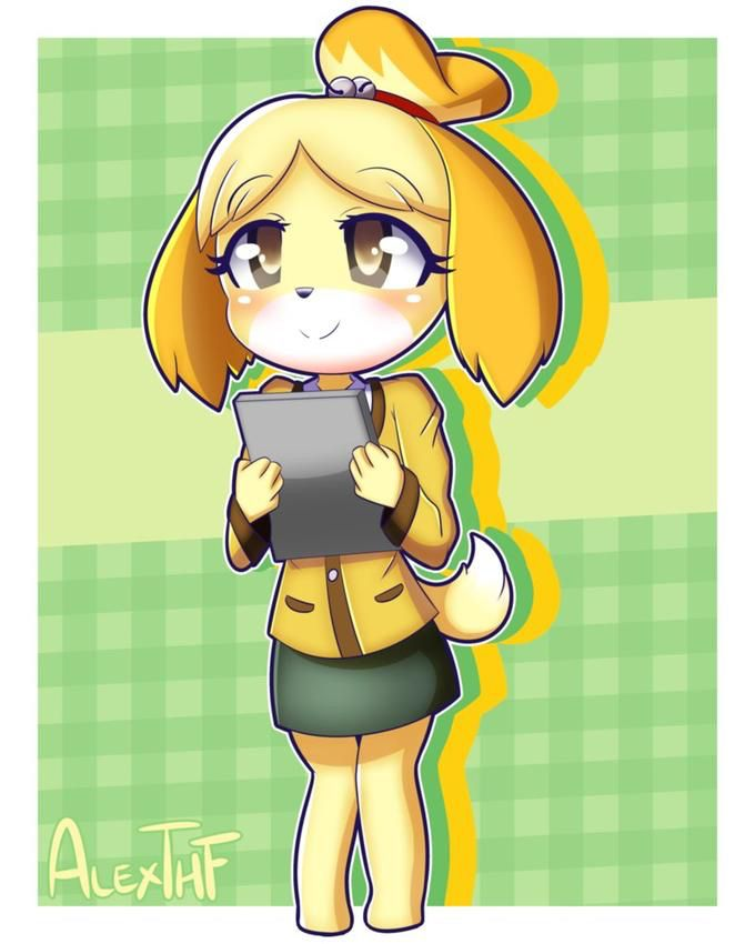 Waifu Dog Animal Crossing Characters Animal Crossing Qr Animal