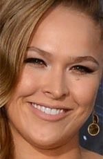 """Ronda Rousey ( #RondaRousey ) - an American mixed martial artist, judoka, and actress who was the first U.S. woman to earn an Olympic medal in judo (Bronze) at the 2008 Summer Olympics in Beijing, won twelve consecutive MMA fights, and ranked """"most dominant active athlete"""" - born on Sunday, February 1st, 1987 in Riverside County, California, United States"""
