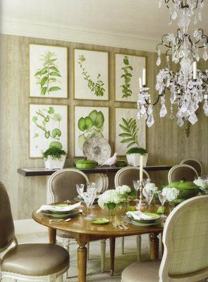 My Dining Room Project Botanical Art