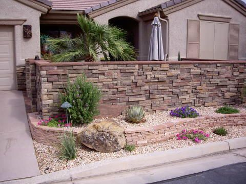 Southwestern Landscape Ideas Google Search Rock Flower