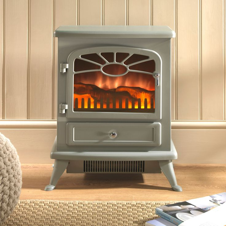 Focal Point Grey Electric Stove | Departments | DIY at B&Q