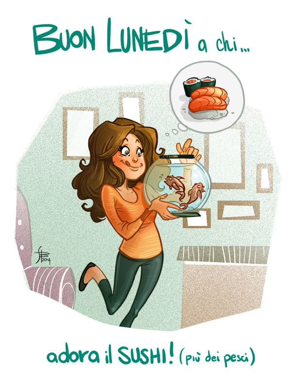 Illustrations for boring monday mornings   2013 on Behance