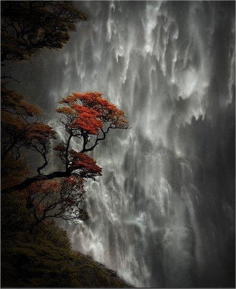 Devil's Punch Bowl Falls. Arthurs Pass, New Zealand