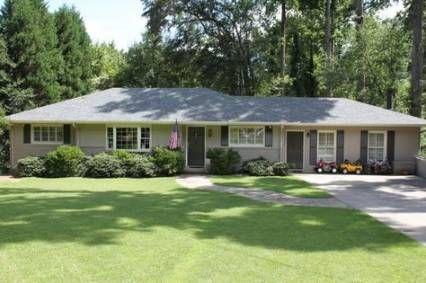 Best House Ranch Exterior Colors Bricks Ideas House