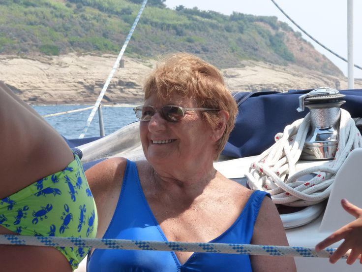 Im mare - Procida luglio 2015