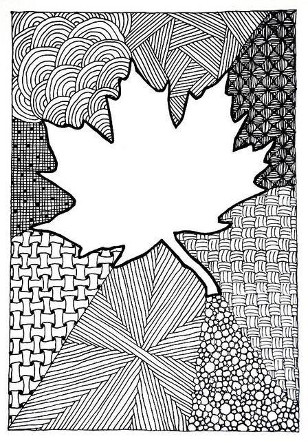 herfstblad oost-indische inkt - Google zoeken