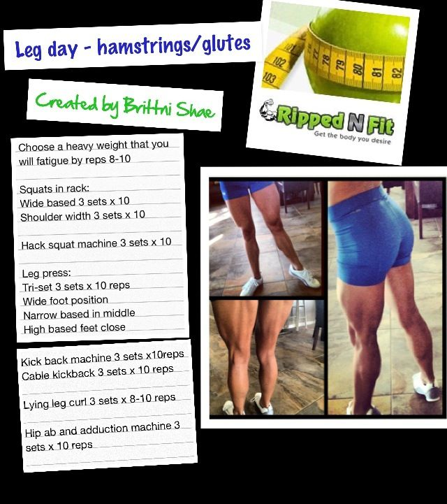 Build your hamstrings & Glutes with this workout!