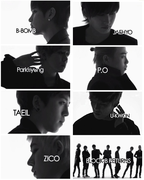 Block B. I have so much feels for this group of derps. So glad they made a comeback. <3