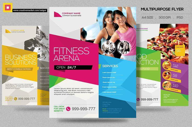 Multipurpose Flyer V1 by Satgur Design Studio on Creative Market