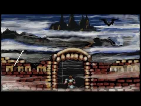 Art Academy: Atelier - Super Castlevania - Oil - YouTube