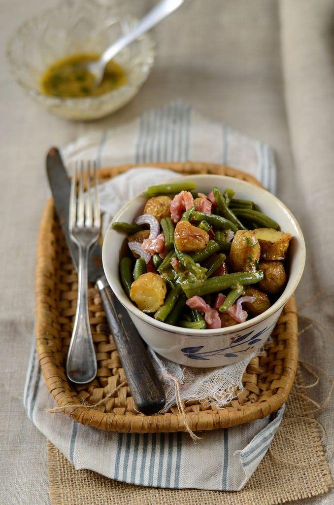 Salade de pommes de terre nouvelles et haricots verts - Tangerine Zest