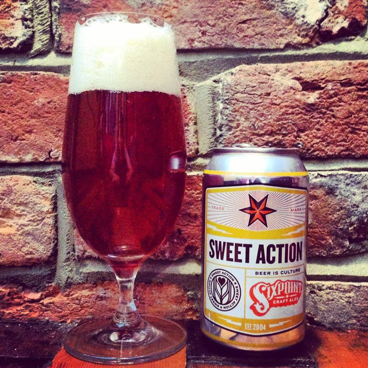 Sixpoint Brewery // Sweet Action 5.2% ABV.