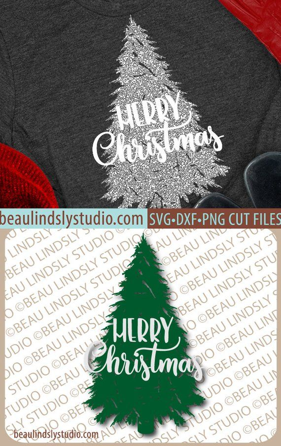 Christmas Tree Svg File Merry Christmas Svg Grunge Tree Svg Etsy Silhouette Christmas Christmas Designs Cricut Crafts