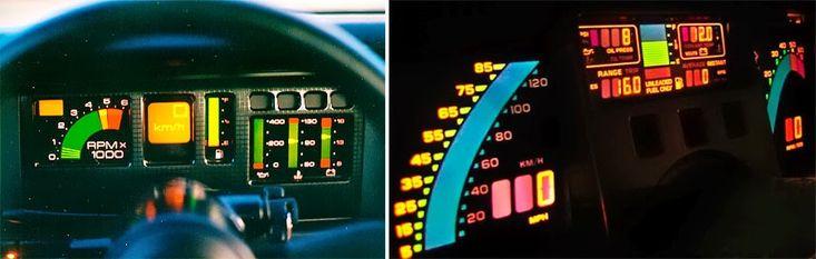 1987 Pontiac Trans Am GTA and 80s Chevrolet Corvette