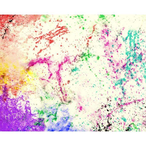 Color Splatter BG liked on Polyvore | Style | Pinterest