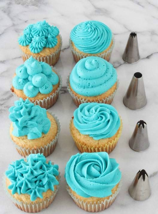 #Cupcake lovers! Ever wonder which decorating tip you should use? This answers your #cupcake #decorating questions!