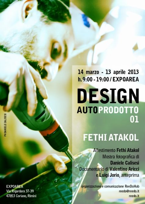 Design Autoprodotto 01 - Fethi Atakol - exhibition and reuse-design workshop