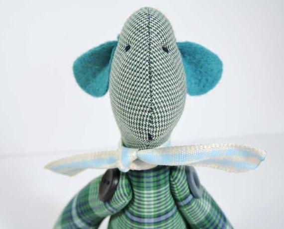 Special gift for Brithday or Baby shower / cotton Teddy Bear / stuffed Bear / vintage Teddy Bears / Artist Bears / Nursery decor / Gift