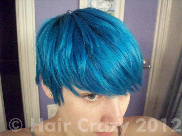 PanicShmanic -   - Manic Panic After Midnight Blue   - Manic Panic Atomic Turquoise