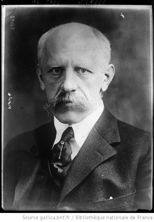 [Portrait de] Fridtjof Nansen, explorateur norvégien : [photographie de presse] / [Agence Rol] - 1