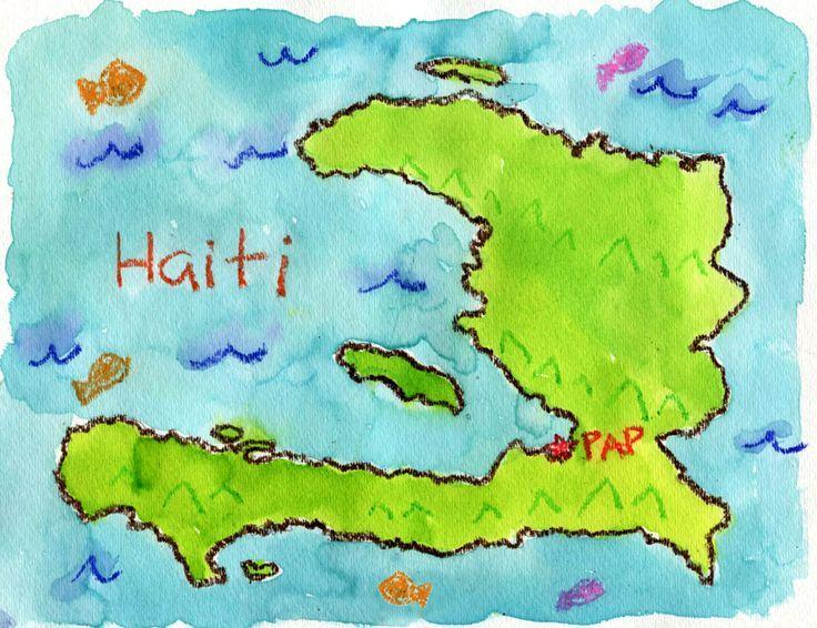 Oltre Fantastiche Idee Su Map Of Haiti Su Pinterest Citazioni - Haiti maps