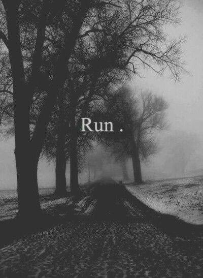 Image via We Heart It https://weheartit.com/entry/167443787 #grunge #love #night #run #sad #shadow