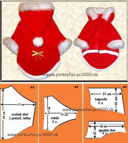 Patrones o moldes para confeccionar ropa para mascotas, en este caso los patrones están orientados a perrosyorkshire terriers y otros perros pequeños. Aun así, con el patrón puedes adaptarlo, ampl…