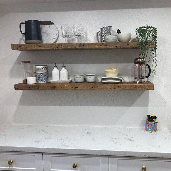 41++ Distressed wood floating shelf ideas in 2021