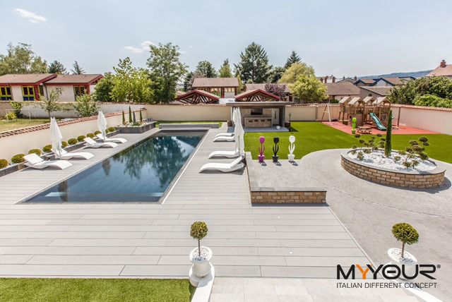 France Private Villa #myyour #design #italiandifferentconcept #pooldesign #gardendesign #tulip #zoe 