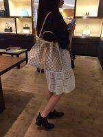Authentic Louis Vuitton Damier Azur Girolata Bag N41579